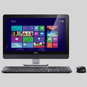 Inspiron One 23 Touch AIO Desktop with Peripherals
